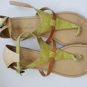 SPLENDID leather sandals